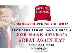 Le Président Donald J. Trump Signé 2020 Maga Hat