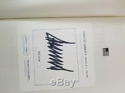 Le Président Donald J Trump Signé 2081/10 000 Crippled Amérique Du Livre Premiere Coa