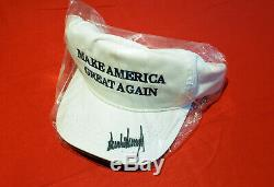 Le Président Donald J. Trump Signé Make America Great Encore Une Fois Hat 2016 Campagne