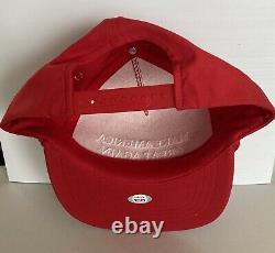 Le Président Donald Trump A Signé Autograph Maga Red Hat Cap Psa Dna Free S&h