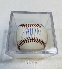 Le Président Donald Trump A Signé Autographié Officiel Mlb Baseball Authentique W Coa