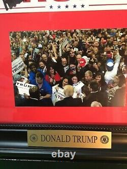 Le Président Donald Trump A Signé Bumper Sticker
