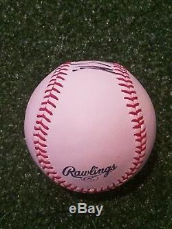 Le Président Donald Trump A Signé Le Baseball! Authentification Jsa! Super Rare