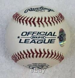 Le Président Donald Trump A Signé Le Baseball Potus Autographié Avec Le Coa