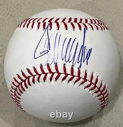 Le Président Donald Trump A Signé Un Autographié Bold Official Selig Baseball Jsa