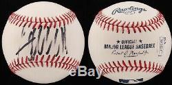 Le Président Donald Trump Autographié Oml Baseball Signedpsa / Adn Et Jsa Hologram