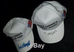 Le Président Donald Trump Signature Campaign Hat Stormy Daniels Signé Maga Hat