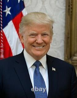Le Président Donald Trump Signé Autographié One Dollar Bill (frank Garo Fhe Coa)