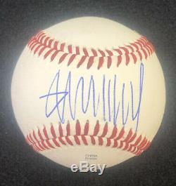 Le Président Donald Trump Signé Autographié Potus Baseball Avec Coa