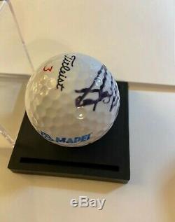 Le Président Donald Trump Signé Titleist Golf Ball Autographe