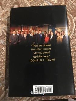 Livre Autographié Par Donald Trump Comment Devenir Riche En Vente D'un Jour