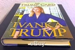 Livre Ivanka Trump Signé Trump Card Dédicacé 1ère Édition Président Donald USA