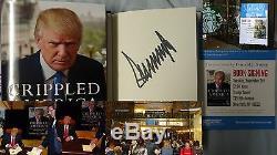 Livre Signé Donald Trump, Infirme En Amérique: Comment Faire Grand Encore 1/1 Hc Flyer