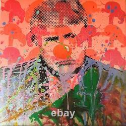 M. Clever Art A Triomphants Clown Diamants Peinture Pop Atout Donald Art Déco Art