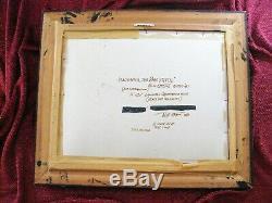 Madonna La Belle Signé Bill Stone 1979 Cibachrome Donald Trump