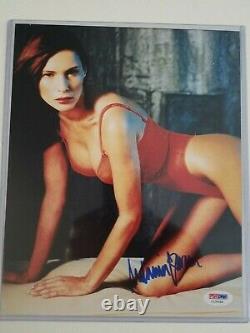 Melania Trump Signé Autographié 8x10 Photo Psa/adn Coa Première Dame Super Rare