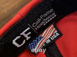 Mike Pence Signé Maga Hat Official Cali Fame Campaign Store Fermé Jsa Trump Us