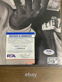 Mike Tyson Signé Argent Trump Plaza Autographe Psa/adn 16x20 Photo