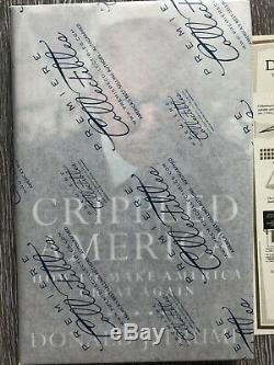 Monnaie, Scellé Donald Trump Autosigné Crippled Livre America # / 10000