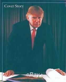 Photo 8x10 Signée Du Président Donald Trump