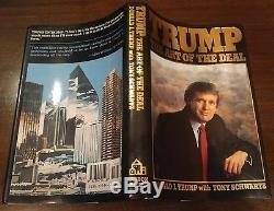Première Édition Signée Donald Trump Art Du Deal 1er / 1er 1987