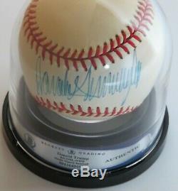 Pres. Atout Signé Autograph Donald Rawlings Onl Baseball Sweet Spot Jsa Et Bas