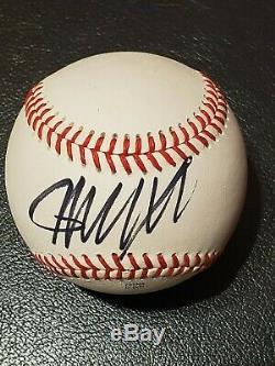 Président Atout Autographed Signe Donald Ncaa Championnat De Baseball Withcoa