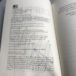 Président Atout Signée À La Main Donald Autographié Livre Crippled Americacoa Lia