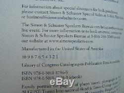 Président Atout Signée Crippled Donald America Limited Edition & Numéroté Copy
