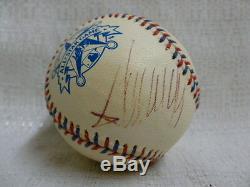 Président Des États-unis, Donald Trump Signé 1995 All Star Game Baseball Jsa Z08507