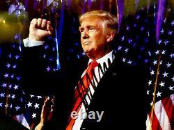 Président Donald J Trump Original Signé À La Main Autographié 8x10 Photo Withcoa