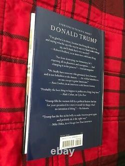 Président Donald J Trump Signé Autographed Crippled America Book Premiere Coa