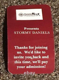 Président Donald J. Trump / Stormy Daniels Dual Signé Balle De Golf Psa 1/1 Hush