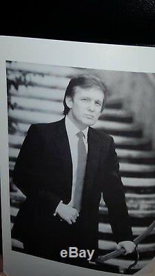 Président Rare Donald Trump Autograph Auto Signé 1st Ed. 100% Authentique Le / 500