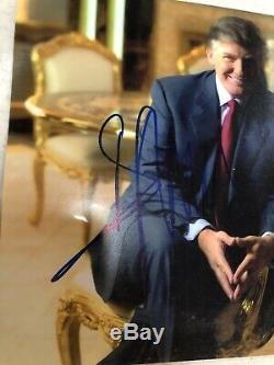 Psa / Adn 45e Président Atout Signé Donald Photo Autographiée Lot De 5