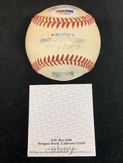 Rare 1 De 1 À Donald Trump D'adam West Psa Certifié Autographié Baseball