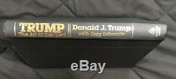 Rare 2016 Certifié Signée À La Main Élection Édition Donald Trump Art Of The Deal