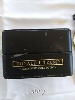 Rare! Donald Trump Autographié Signé Regarder Autographe Président Présidentiel