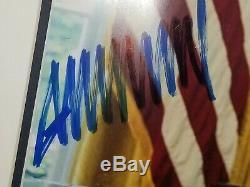Rare Size 18x12 Donald Trump A Signé Un Autographe. Psa Cert Maga, Photo Président