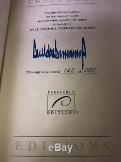 Signé Autographié Préféré # 142 Atout Survivre Top Donald Président Autograph