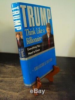 Signé Donald J Trump Pensez Comme Un Milliardaire Edition Collector