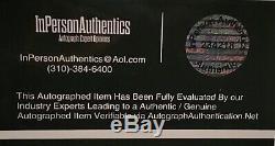 Signe Donald Trump Autographié Auto Photo 8x10 45ème Président Maga Coa