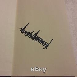 Signed How Get Rich Autograph Donald Trump Promoteur Immobilier À Nyc, Homme Politique