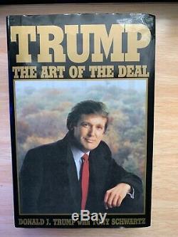 Trump L'art De L'action Édition D'élection Livre De Donald Trump, Auto Signé