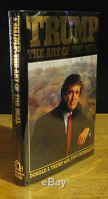 Trump L'art Du Deal (1987) Donald J. Trump, Signé Par Joe, 1re Édition