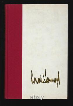 Trump Surviving At The Top (1990) Donald J. Trump, Signed'to Ed', 1ère Édition