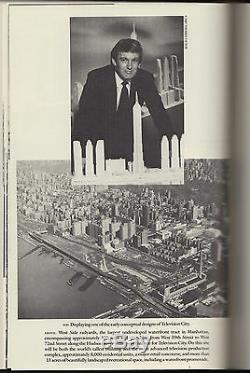 Trump The Art Of The Deal (1987) Donald J. Trump Signé À Eileen 1st Edition