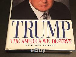 Un Autographe Signé Du Président Donald Trump À Matt Best Wishes Auto